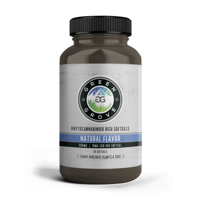 Green Grove 2_Softgels_NF_10mg_Front_Amber Bottle_1000x1000