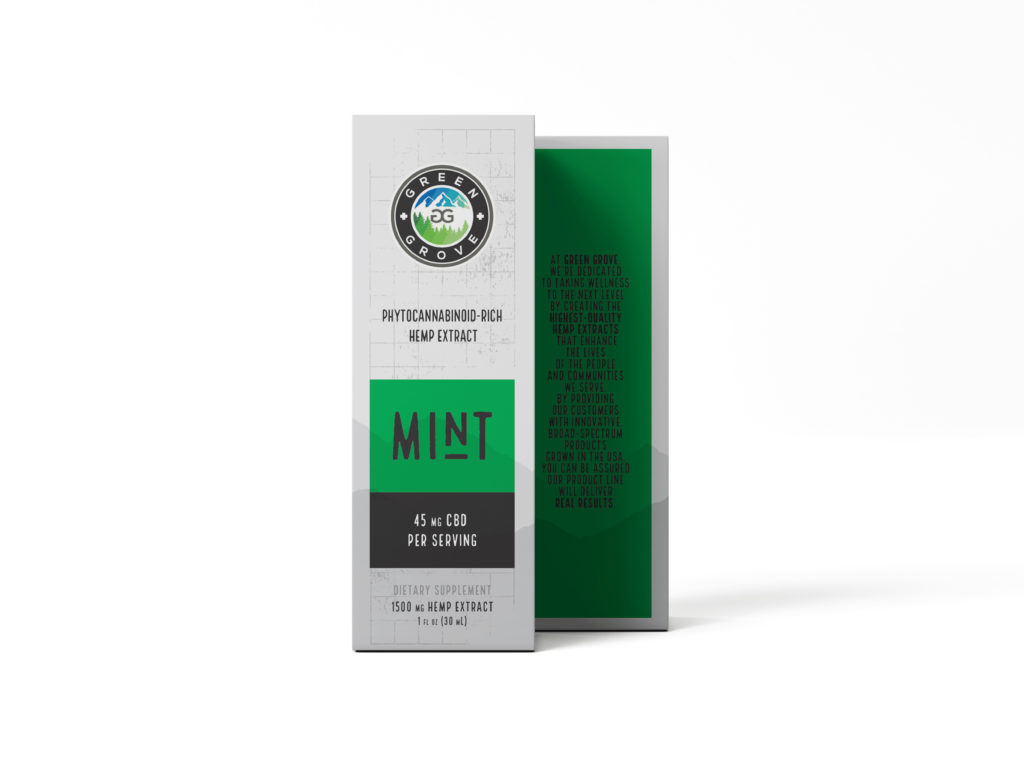 Mint 1500mg box