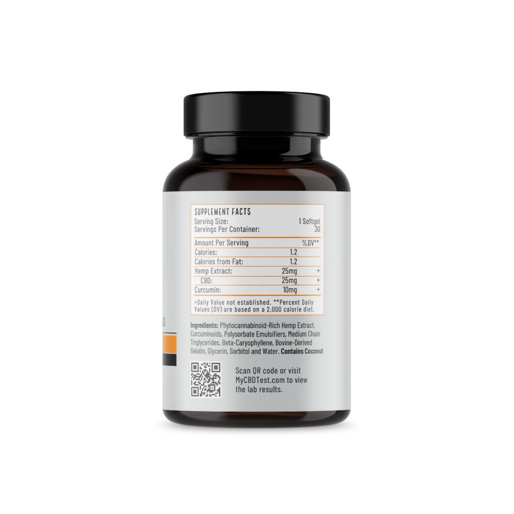 Softgels with Curcumin Right